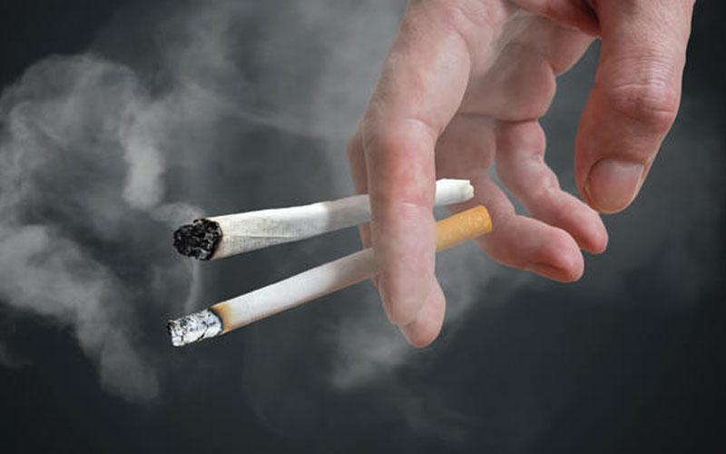 ناباروری مردان با سیگار کشیدن